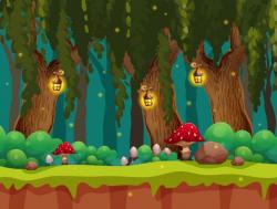 forest clipart fairytale