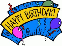 free happy birthday clipart public domain
