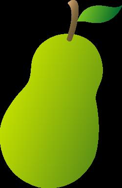 pear clipart public domain