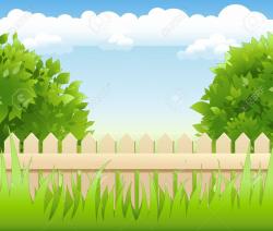 garden clipart background