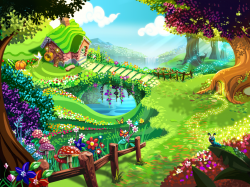 garden clipart animated