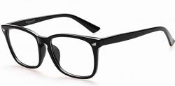 glasses transparent blue