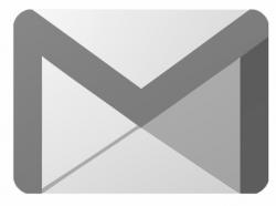 gmail logo grey