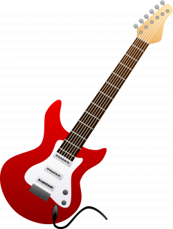 guitar clipart rock