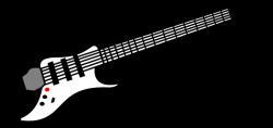 guitar clipart cartoon