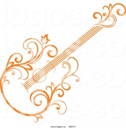 guitar logo royalty free