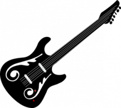 guitar logo clipart