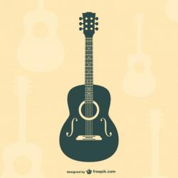 guitar logo acoustic