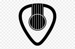 guitar logo transparent