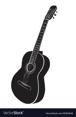 guitar logo vector