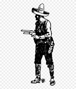 cowboy clipart shooting