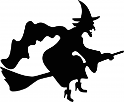 witch clipart black