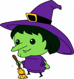 witch clipart cartoon