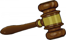 gavel clipart gold