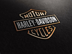 harley logo wallpaper
