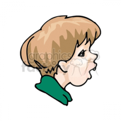 open clipart person