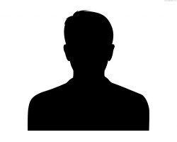 person silhouette clipart head
