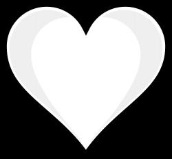 heart clipart black and white valentine