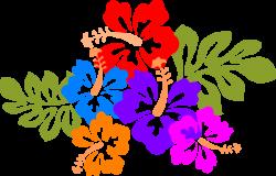 luau clipart tropical