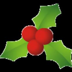 mistletoe clipart holly