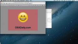 how to make image transparent mac os