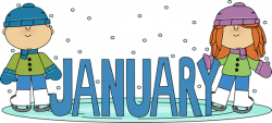 january clipart small