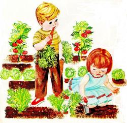 garden clipart home