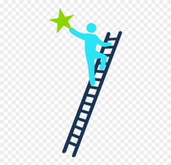 ladder clipart person