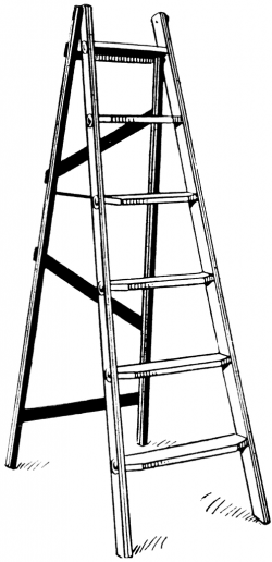 ladder clipart safety