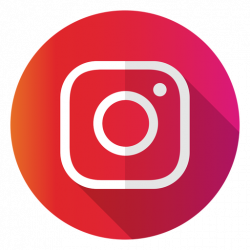 instagram logo transparent red