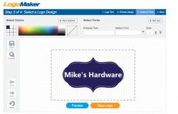 shopify logo maker gadget store