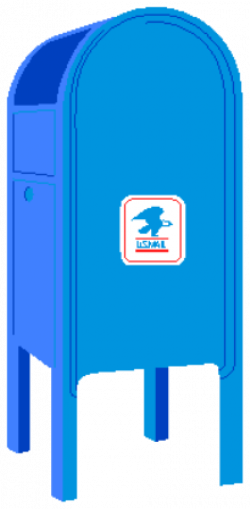 mailbox clipart postal system
