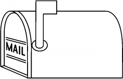 mailbox clipart drawing