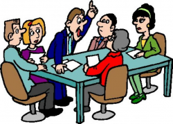 meeting clipart committee