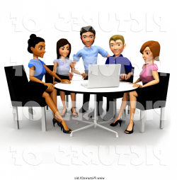 meeting clipart team