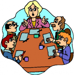 meeting clipart council