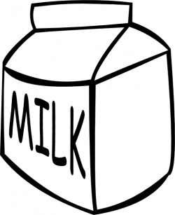 milk clipart vector