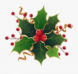 mistletoe clipart winter season