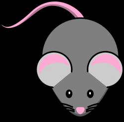 mouse clip art grey