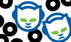 napster logo sticker