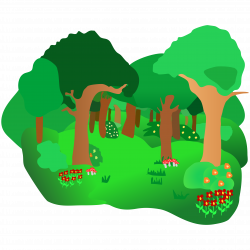 forest clipart green