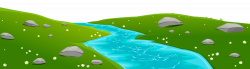 forest clipart river