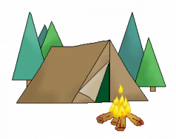 forest clipart camping