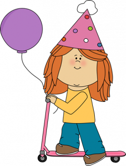 birthday clipart kid