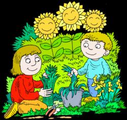 garden clipart gardening