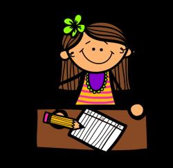 writing clipart center