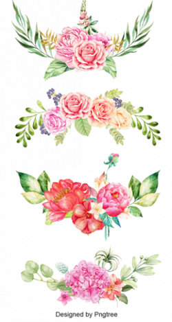 Flower clipart floral pattern