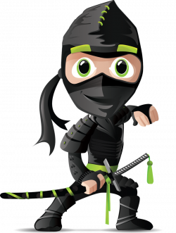 ninja clipart public domain