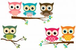 owl clipart tree