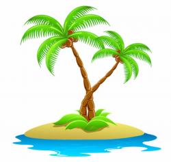 island clipart tropical